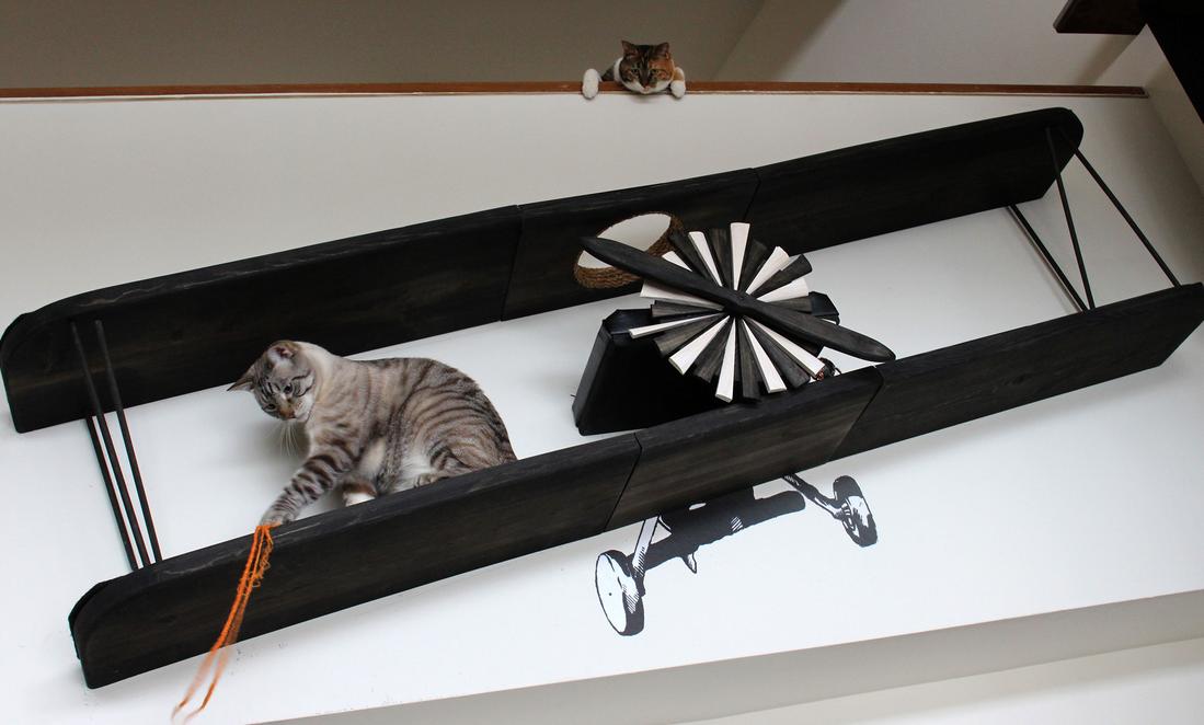 Mobili felini per una casa a misura di gatto - Gatto solo in casa per 15 giorni ...