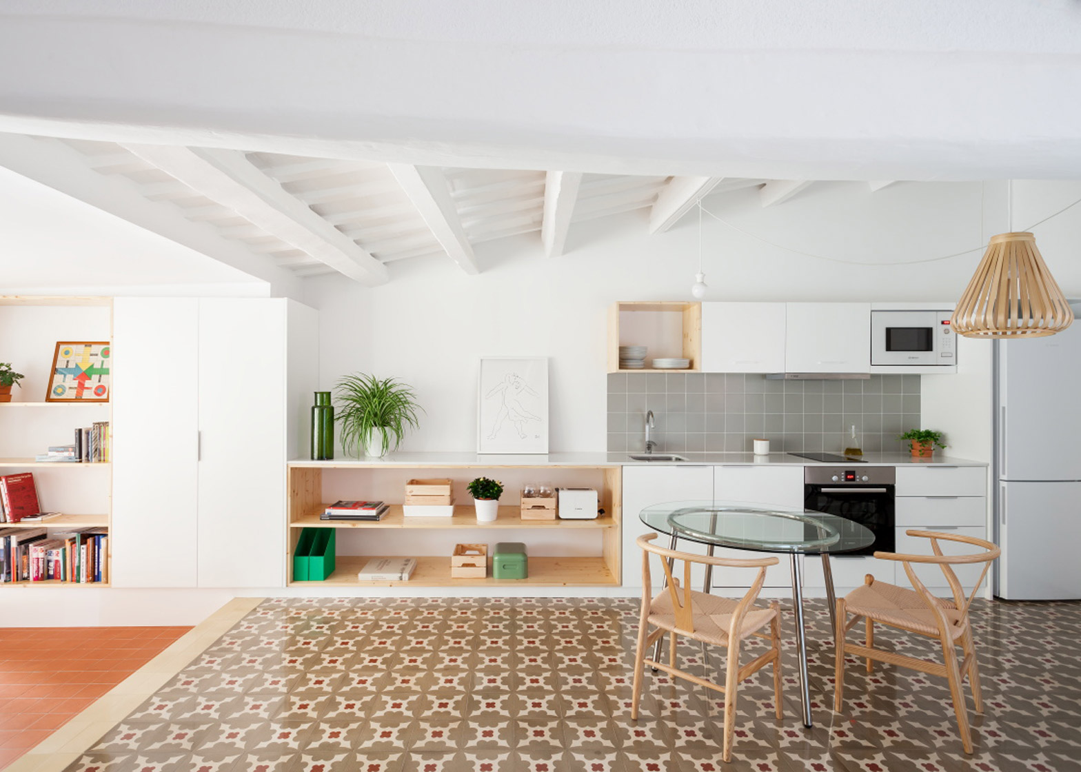 45 mq trasformati in open space - Open space casa ...