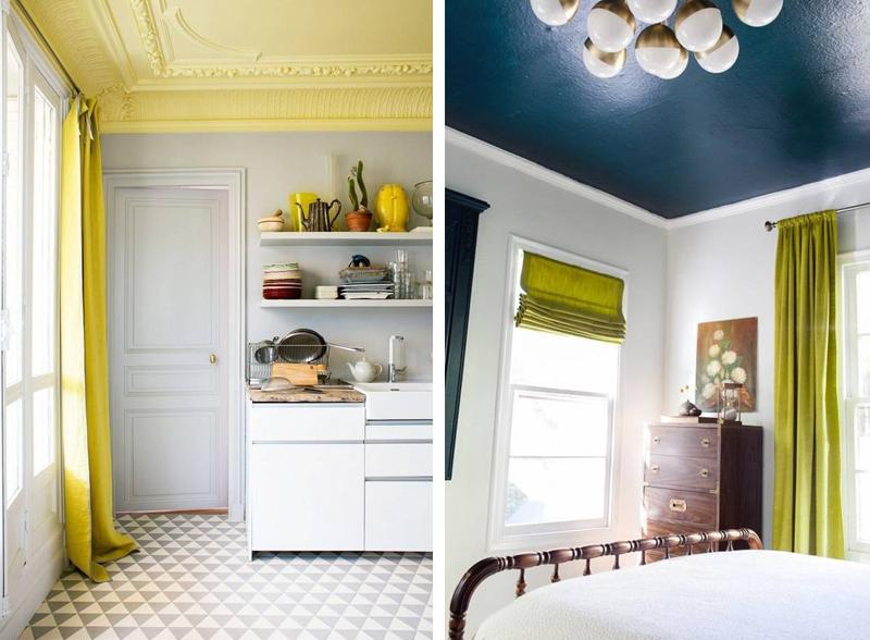 soffitto colorato 14 bellissime idee