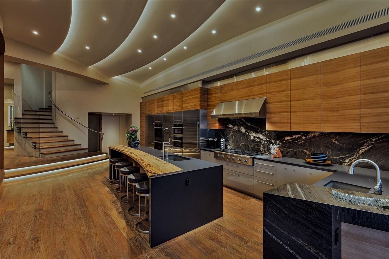 Fabulous nulla stato lasciato al caso materiali pregiati arredi di design ciascun ambiente della - Interni case da sogno ...