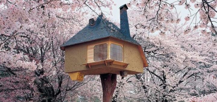 Riciclo creativo costruire case con bottiglie di vetro - Costruire casa albero ...