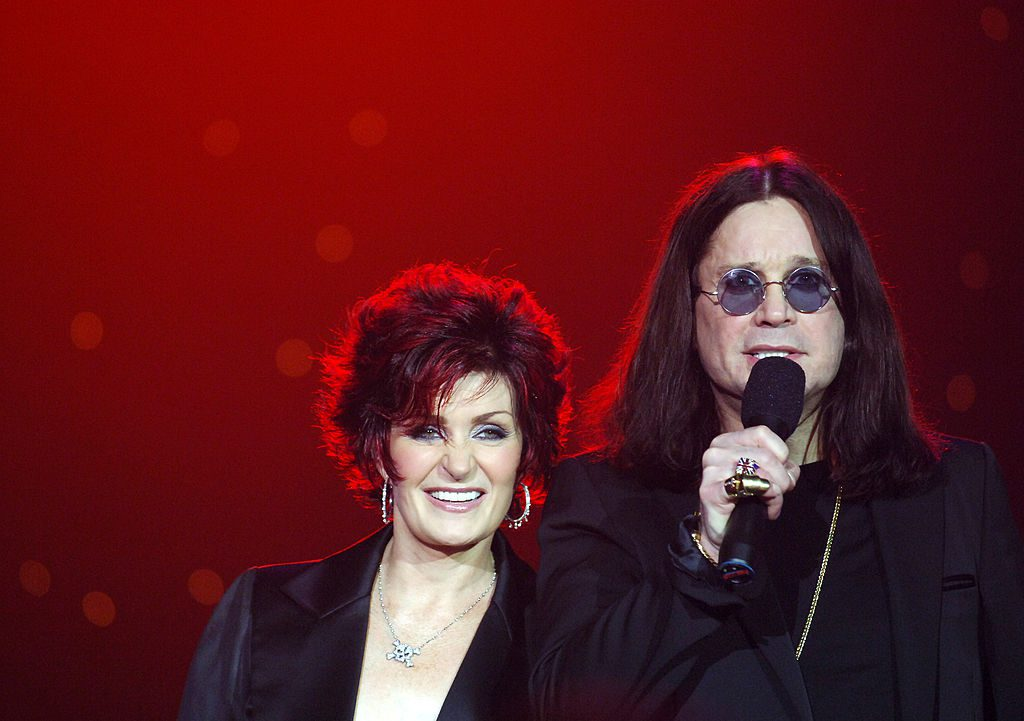 Sharon Osbourne and Ozzy Osbourn