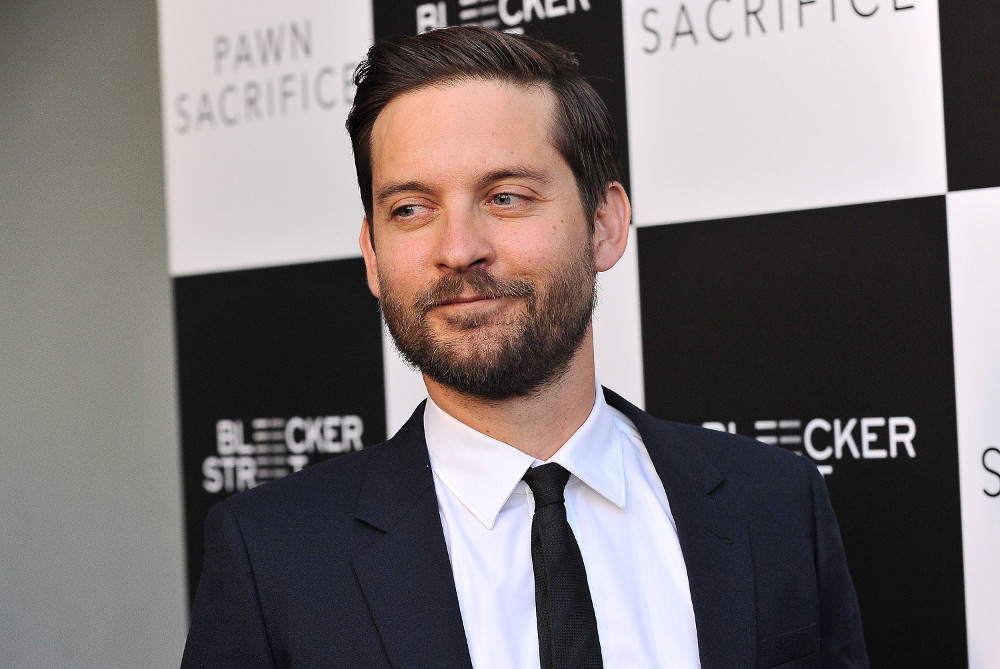 "attends the premiere of ""Pawn Sacrifice"" at Harmony Gold Theatre on September 8, 2015 in Los Angeles, California."
