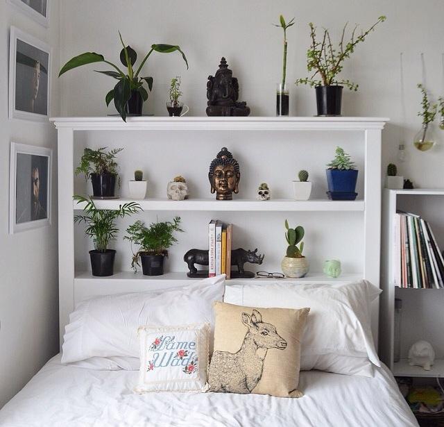 21 idee per una testata del letto alternativa - Testiera letto libreria ...