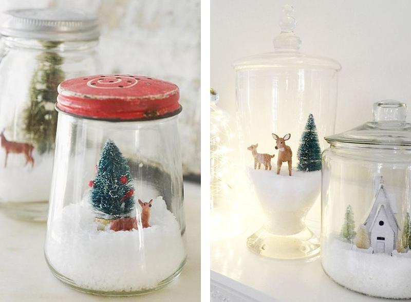 Tante idee per le decorazioni natalizie for Decorazioni per la casa fai da te