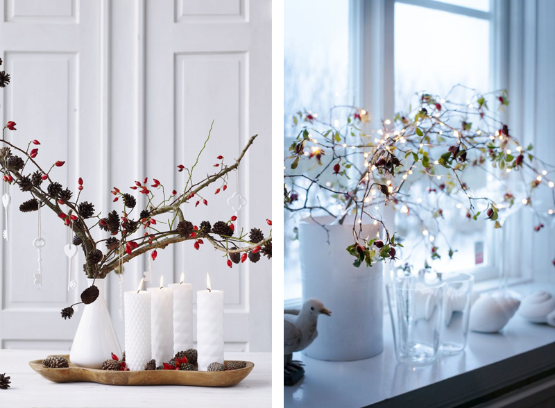 tante idee per le decorazioni natalizie