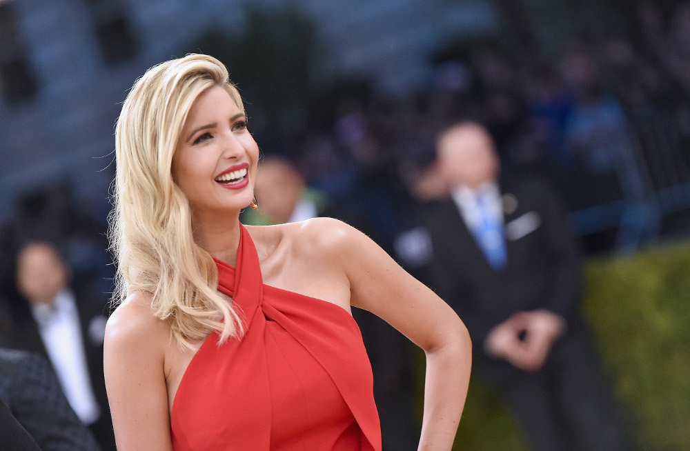 """NEW YORK, NY - MAY 02: Ivanka Trump attends the """"Manus x Machina: Fashion In An Age Of Technology"""" Costume Institute Gala at Metropolitan Museum of Art on May 2, 2016 in New York City. (Photo by Mike Coppola/Getty Images for People.com) *** Local Caption *** Ivanka Trump"""