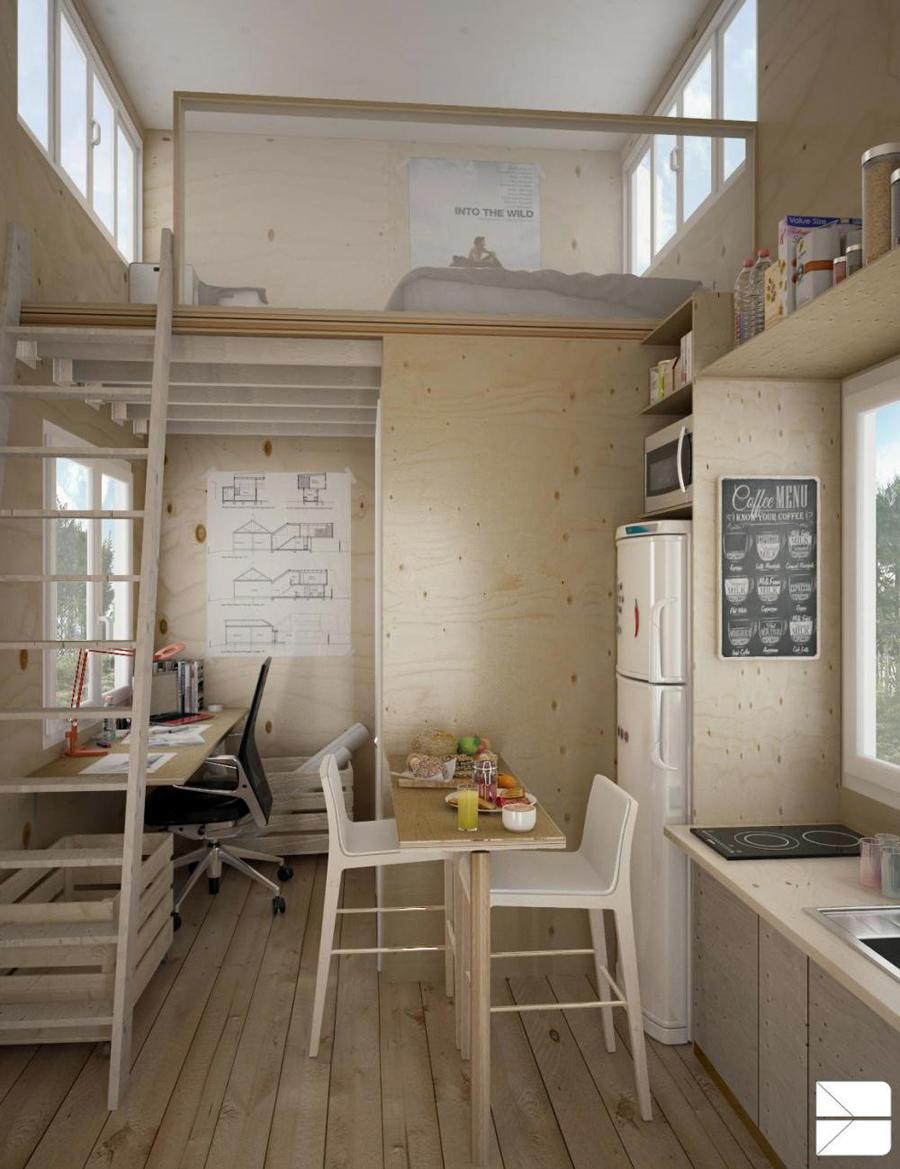 15 bellissime idee per il soppalco for Consigli per arredare casa piccola