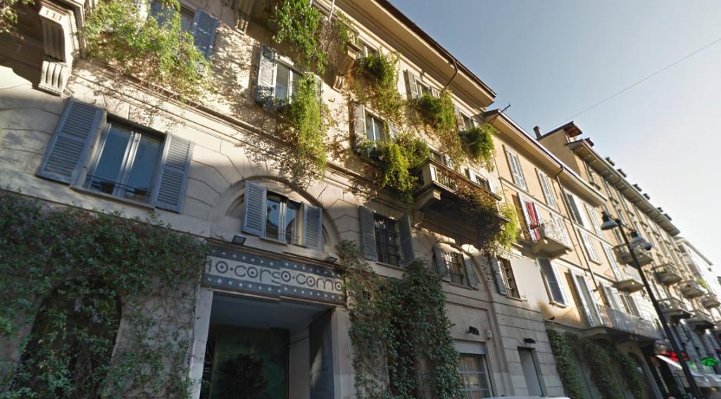 Corso Como 10, Google Maps