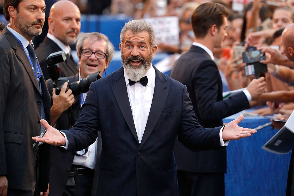Mel Gibson /73rd Venice Film Festival (Photo by Andreas Rentz/Getty Images)