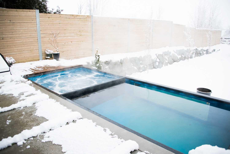 Se il vostro sogno una piscina un container la soluzione - Piscina container ...
