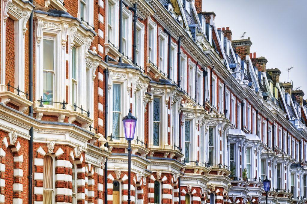 Londra case vuote