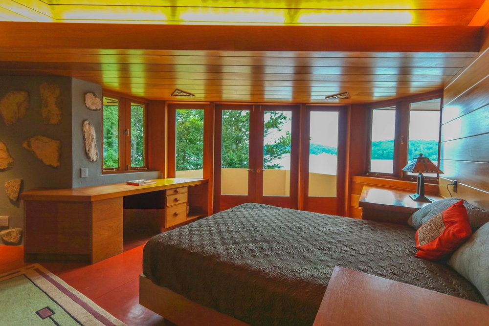 In vendita l 39 isola a forma di cuore for Frank lloyd wright piani casa della prateria