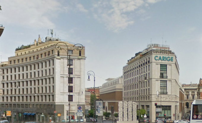 Via Bissolati, Roma - Palazzo Carige - Fonte: Google Maps