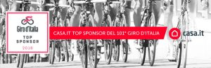 Casa.it Top Sponsor del Giro 101