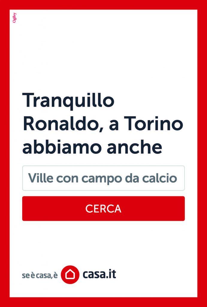 Tranquillo Ronaldo, a Torino abbiamo anche ville con campo da calcio