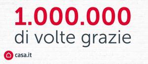 Un milione di grazie!